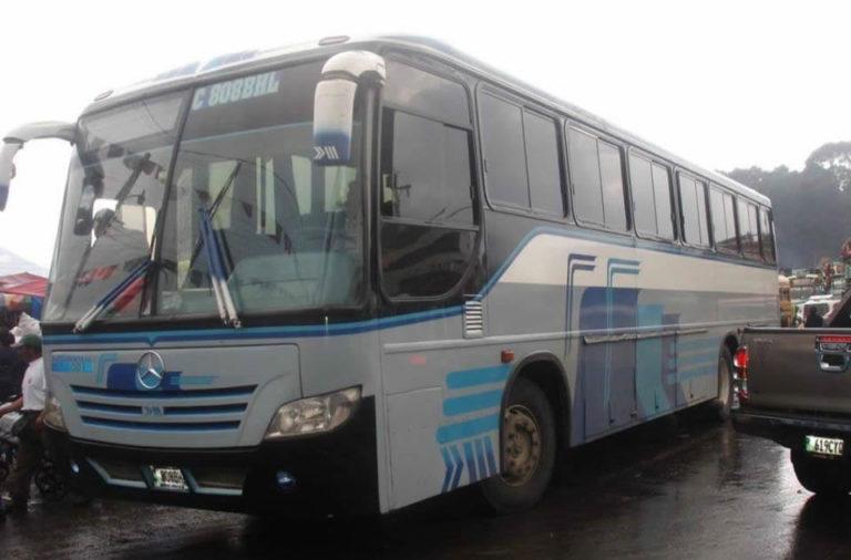 ASALTAN A UNIDAD DE TRANSPORTES MARQUENSITA