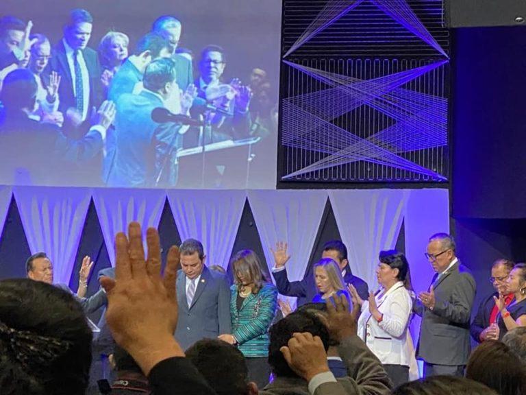 SAN MARCOS Oran por presidente Morales