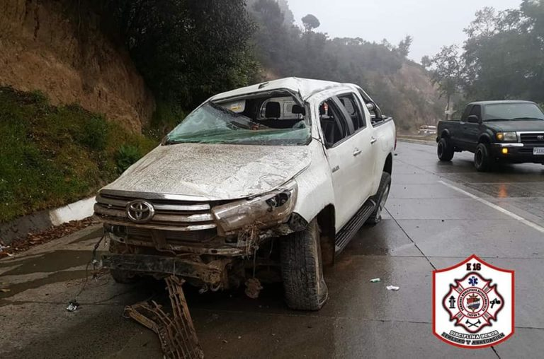 CHIMALTENANGO Varios accidentes en la interamericana