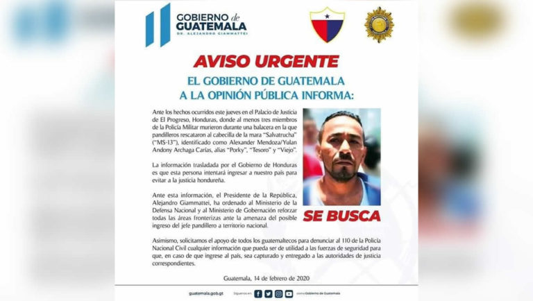 Guatemala Autoridades en alerta